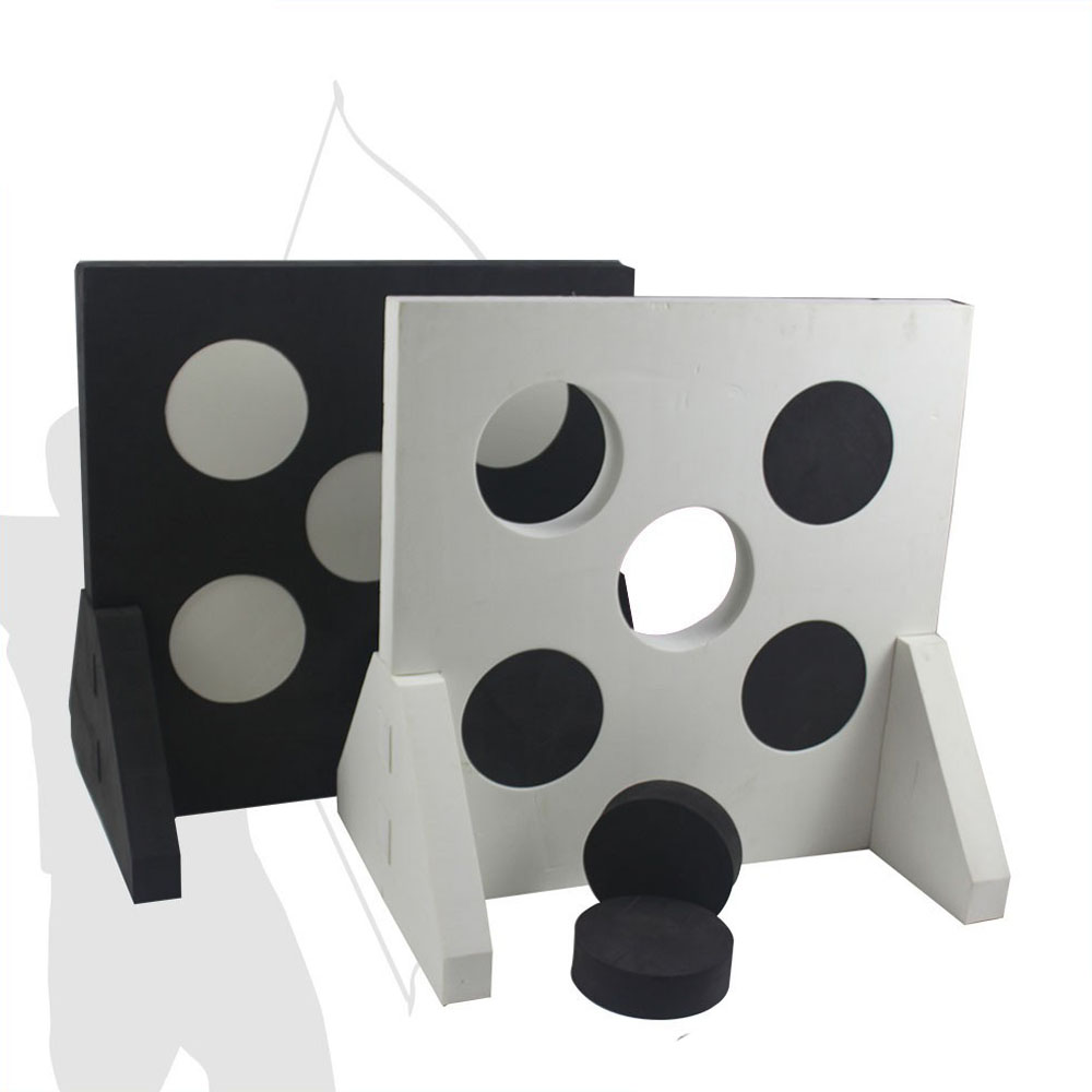 Archery Combat EVA Five Spots Foam Target For CS Games Shooting