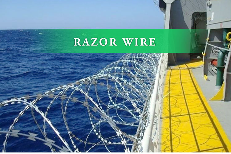 450mm razor barbed wire fencing military mesh