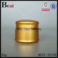 50g gold face mask aluminum containers with lid wholesale