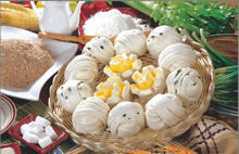 Frozen bread Guandong steamed roll frozen food bread steamed bun