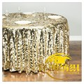 Manufacturers Custom Hotel wedding table cloth party layout Sequin tablecloths