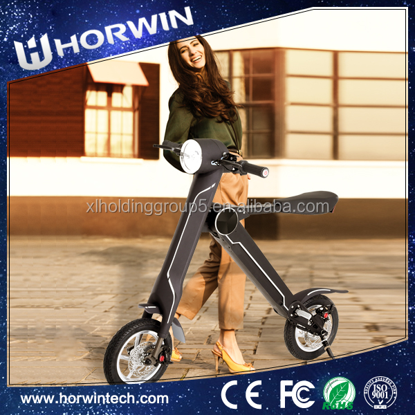 350W Electric Folding E-Mini 110cc super pocket fat frame downhill Bike from Horwin