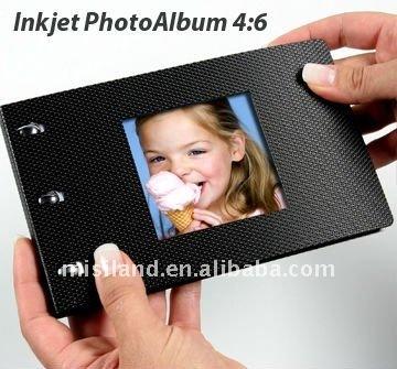 Inkjet DIY Photo Book 4x6 Size Black Cover foto Album(High Grade Album)