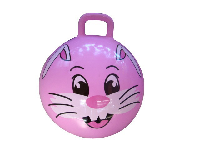 Kids inflatable animals PVC space hopper ball