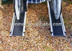Aluminium telescopic portable wheelchair ramps