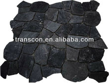 Cheap patio black paver stone for sales NR018-2