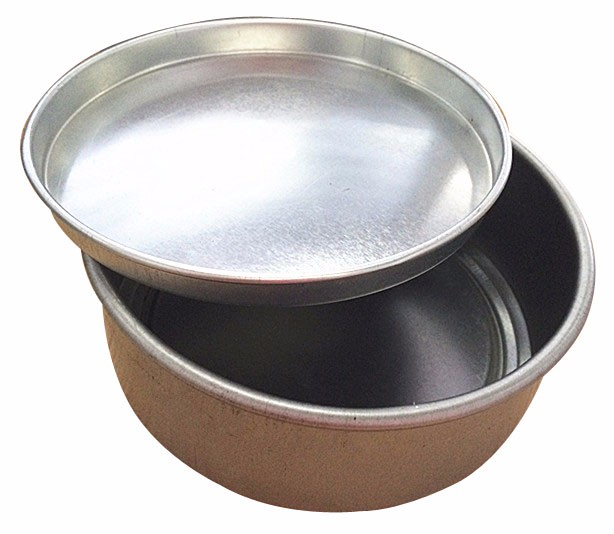 China suppliers top quality plain silver seamless 8 oz candle tin