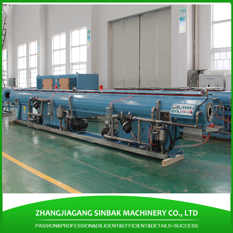 250mm pvc drain pipe production line with stainless steel calibrator sleeve