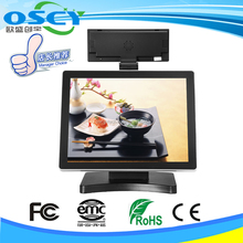 "Good quality pos system 15"" screen all in one direct touch pos with pos"