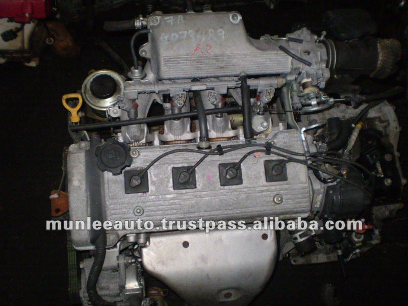High Quality Used Japan Engine for Car Toyota 7AFE EFI Used Engine
