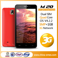 "South Asia Hot Selling OMES Mobile M20 5"" 5inch 5 inch QHD IPS 1G+4G Android 4.2 MTK6582 quad core china cell phone"