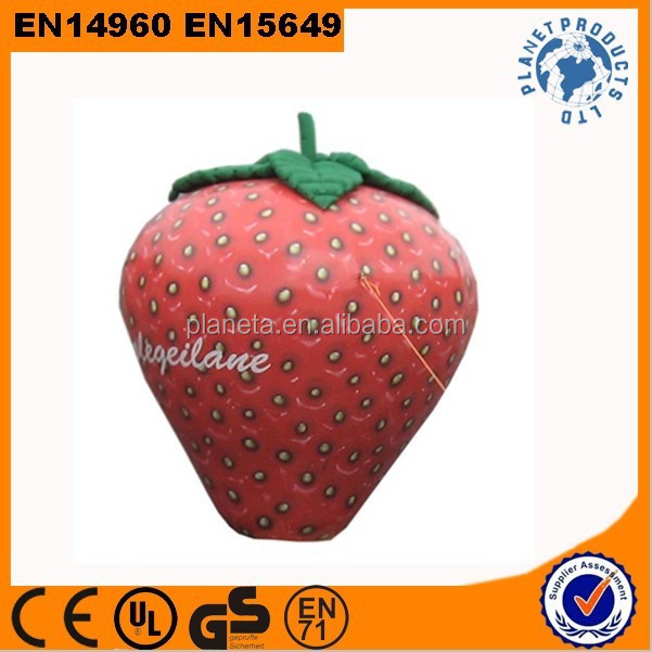 Strawberry Model Giant Advertising Inflatable Fruit