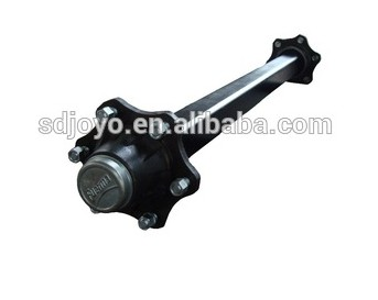 shandong joyo machinery supply trailer axle, tractor trailer parts