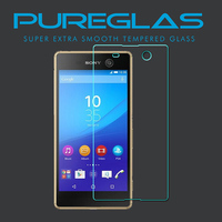 Shenzhen Mobile Phone Accessories For Sony M5 Best Tempered Glass Screen Protector