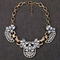 2013 New Luxury Fashion Brand Pink Flower Chunky Statement Choker Necklace Designer Vintage Jewelry For Women