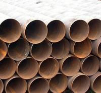 Hot Sell Large Diameter 219-2420mm Spiral Steel Pipe in Stock and Welded Carbon Steel Pipe and La Ssaw Steel Pipe