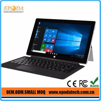 1920*1080P Full HD Screen Intel Cherry Trail Z8300 11.6 Inch X86 Windows 10 Tablet with kickstand and Keyboard