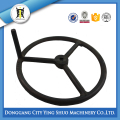 OEM Longlasting cast iron hand wheel with shaft