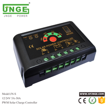 Jnge JN-S simple 5A 12 V 24 V auto PWM solar charge controller/regulador solar
