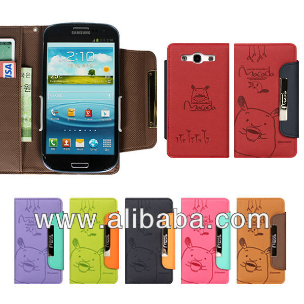 Mobile phone, smartphone case cover-MACADA Diary for iphone, Galaxy, Made in Korea