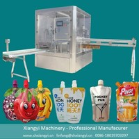 Drink suck jelly filling capping machine /juice spout pouch filling machine