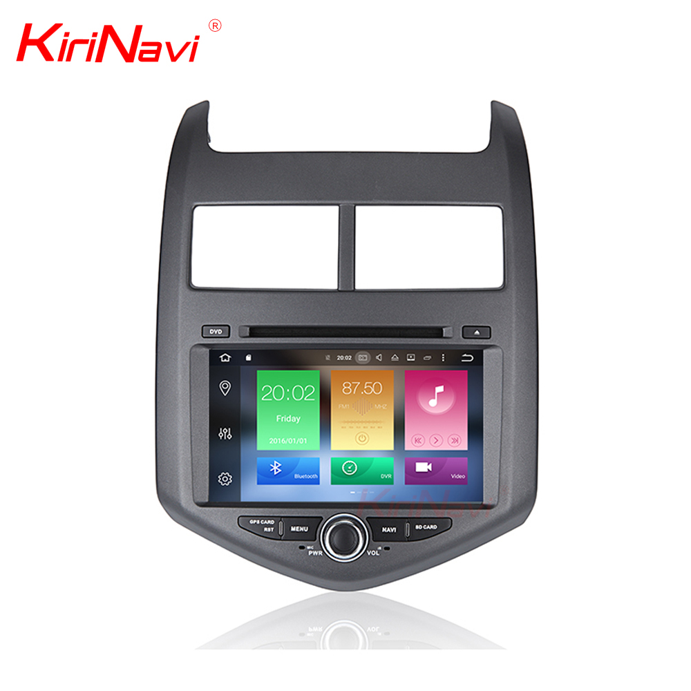 KiriNavi WC-CA8061 8 core android 6.0 stereo for Chevrolet AVEO car dvd player 2011 2012 2013 2014 2015 2016 2017 gps BT 3g TV