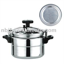 Induction-compatible Pressure Cooker 9L
