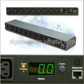 19 inch Intelligent Rack IEC Socket PDU
