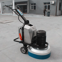 S650 650mm concrete floor grinder with vacuum with petrol engine