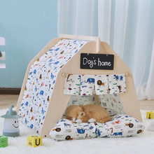 Hot Selling High Quality Wholesale Washable Carton Pop Up Pet Tent