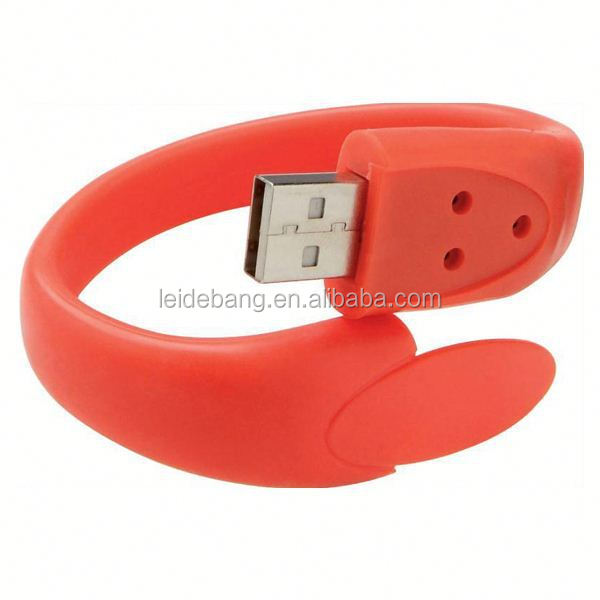 cheap usb flash drive bracelets from alibaba china supplier