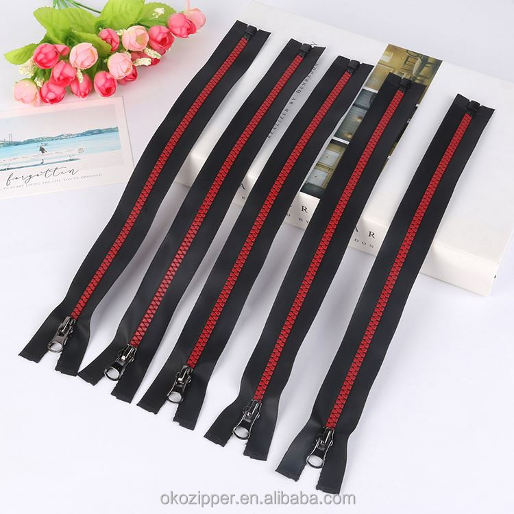 Best selling OEM quality easy carry metal zipper open end