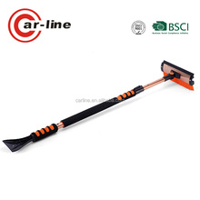 "60"" TELESCOPIC 2-IN-1 BEST AUTO CAR SNOW BRUSH WITH ICE SCRAPER"