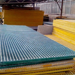 fire resistance light weight gfk molded fiberglass grating frp grid