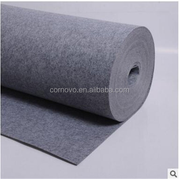 China manufacturer polyester self adhesive felt manufacturer