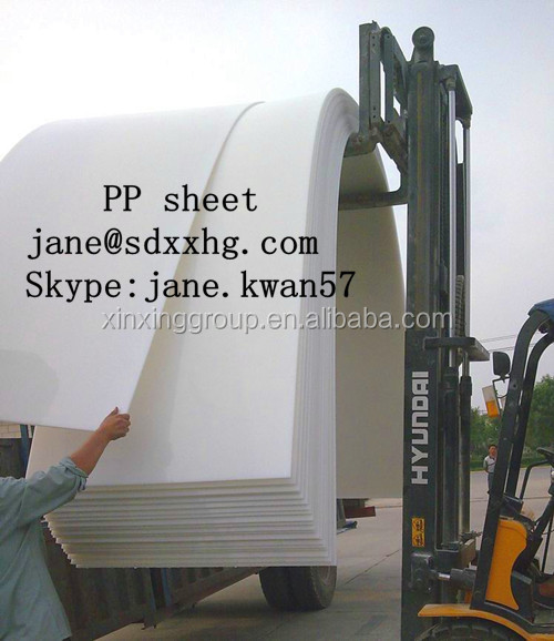 High Quality Variety color and size pp sheet , pp board