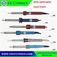 Low Price 500 Series Extermal Heating Electric Soldering ironS /Long Life Soldering Iron 30W/40W/60W 110V/220V