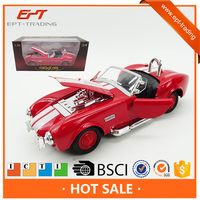 High quality pull back die cast model classic car for sale