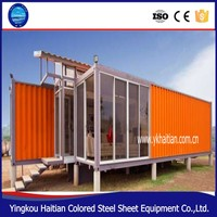 Safe and durable expandable container house for prefabricated office,container houses usa