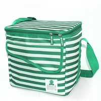 foods wholesale strip pattern cooler bag