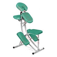 Comfortable Massage Chair Jade Green Aluminum Folding Chair