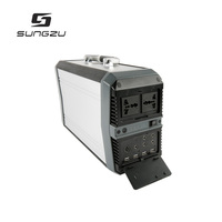 220v battery pack solar generator portable lithium strong power station for outdoor or home using