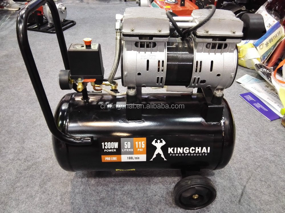 KINGCHAI 24L 30L 40L 50L Oiless air compressor High quality and competitive price