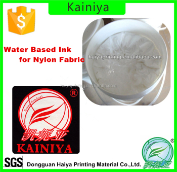 Water Based Screen Printing Ink for high stretchable fabric