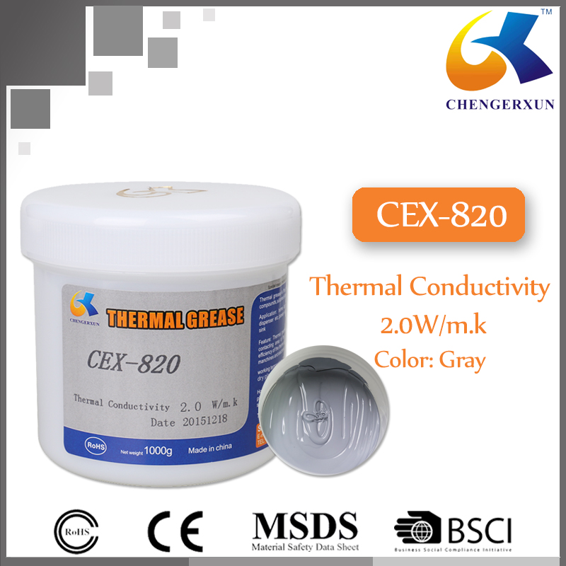 High Thermal Conductivity Silicone Grease for LED Light