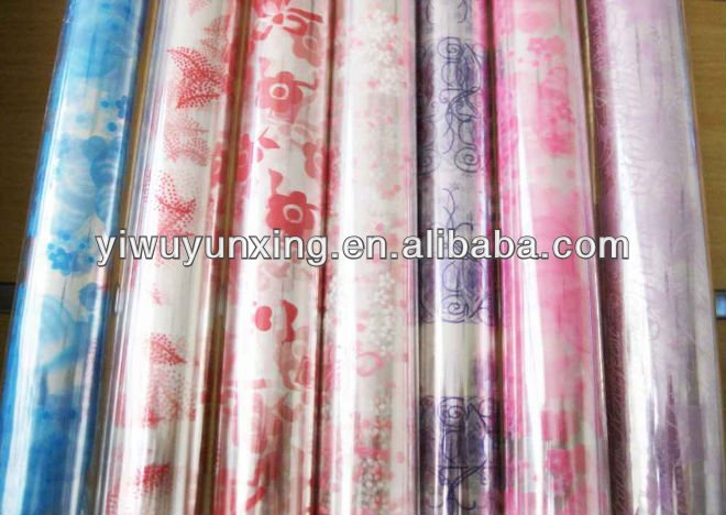 Printed opp cellophane plastic film wrappig paper roll