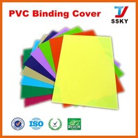 Hot sale pvc binding cover thermal book binding cover material