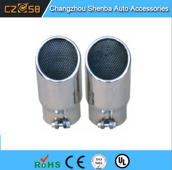 Car accessories muffler tail for Audi Q7