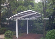 Aluminum Motorcycle Rain Shelter For Car Parking