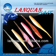 buy 7 ripple tail worm soft plastic lures/baits bulk 40 ct in, Soft Baits